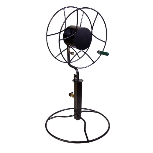 Yard Butler SRPB-360 Yard Butler SRPB-360 Free-Standing Hose Reel with Patio Base, Black