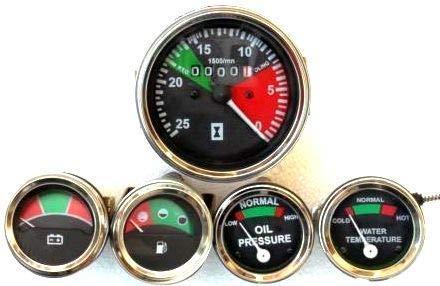 Massey Ferguson Kit de jauge tachymètre + jauge de température + pression d'huile + tension + carburant