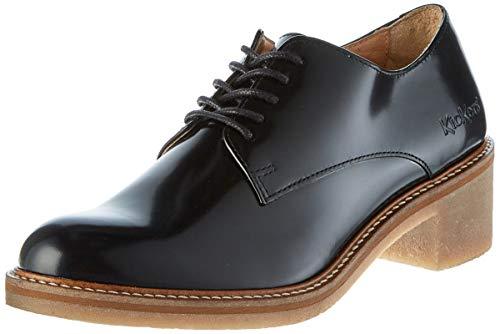 Kickers Oxyby, Zapatos de Cordones Derby para Mujer, Negro (Noir 8), 39 EU