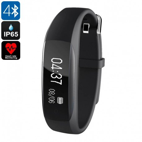 Fitness Tracker Lenovo hw01Bluetooth 4.2, pulsometro, Monitor del Sonno, Pedometro, chiamata ricordo, IP65, 0.91pollici o