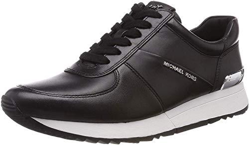 Michael MICHAEL KORS LIV Trainer Sneaker Femmes Schwarz/Braun - 35 - Sneaker Low