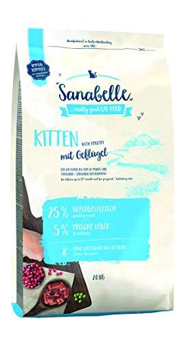 bosch Sanabelle Kitten   2kg Katzenfutter Trocken für Katzenwelpen