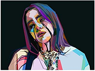 "Drop #1 Exclusive - Limited Billie Eilish Poster (HUGE 18"" x 24"") - Handshipped from Artist"