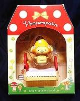 ポムポムプリン マスコットセット キノコ かわいい!被り物プリンちゃんときのこ柄ベッド