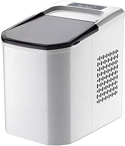 MHSHYSQ Eiswürfelmaschine - Neue Tragbare Eismaschine Für Haushalt/Büro EIS-Hersteller Automatik, Wasserzulauf Haushalt Eismaschine, Klein Eismaschine, Eismaschine Milk Tea Shop Bar