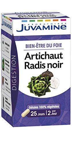 JUVAMINE - Bien Etre du Foie - Artichaut Radis Noir - 50 Gélules