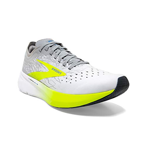 Brooks Hyperion Elite White/Nightlife/Grey Men's 10.5, Women's 12 Medium