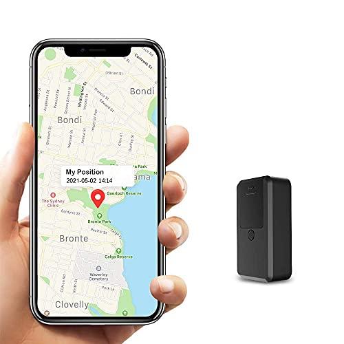 Mini GPS Tracker Kinder, Kimfly Magnet GPS Tracker mit Free APP Klein GPS Locator Auto Fahrrad Anti-Thief Echtzeit GPS Tracking für Taschen Brieftasche Schulranzen