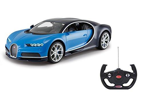 Jamara 40513- Bugatti Chiron 1:14 - Voiture Radiocommandée - Bleu