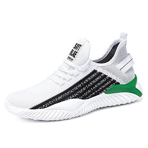 DKZK Zapatillas para Caminar Correr Zapatillas Deportivas para Mujer Hombre Ligeras para Exteriores Gimnasio AtléTico Fitness Caminar Correr Correr Caminar Sneakers
