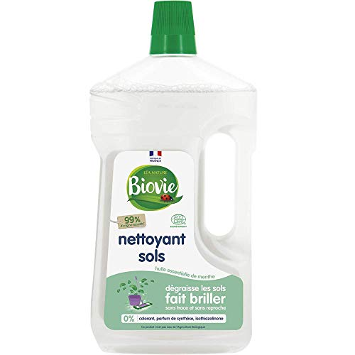 Biovie Nettoyant Multi-Surfaces à l'Huile de Menthe Bio 1 L