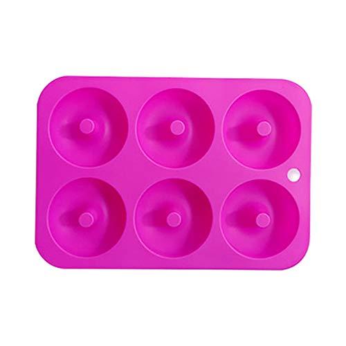 Fortune_90s Molde antiadherente de silicona para hornear para lavavajillas, herramientas creativas de molde, molde de molde de fundición de pasteles, molde de bandeja de hielo, utensilios de cocina