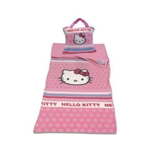 CTI Hello Kitty Fleece - Schlafsack NEU/OVP zur BETTWÄSCHE - Decke - Kissen aus Fleece