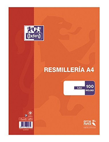 Oxford 100430214 Quaderno A4, 100 Fogli