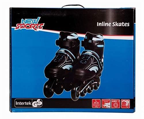 New Sports Inliner Blau, ABEC 7, Gr. 39-42