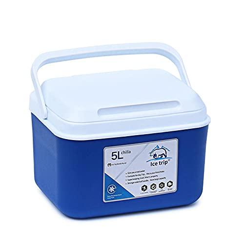 Chuanfeng Caja del Refrigerador De La Incubadora Portátil Al Aire Libre 5L, Botella De Leche Y Caja del Refrigerador De La Fruta, Caja De La Medicina