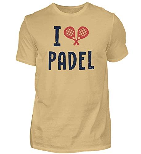 Padel Padel Paddle Tennis 01064 - Camiseta para hombre arena XL
