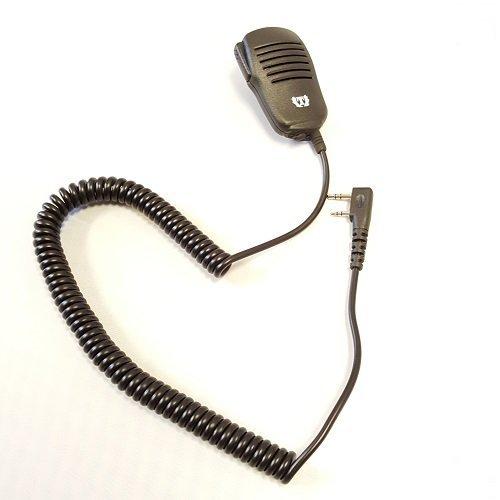 Waterproof Heavy Duty Lapel Shoulder Remote Speaker Mic Microphone PTT for Baofeng UV-5R UV-82 UV5RA BF-888S Kenwood Radios Walkie Talkie 2 Pin Jack -  Tank, JD-3602