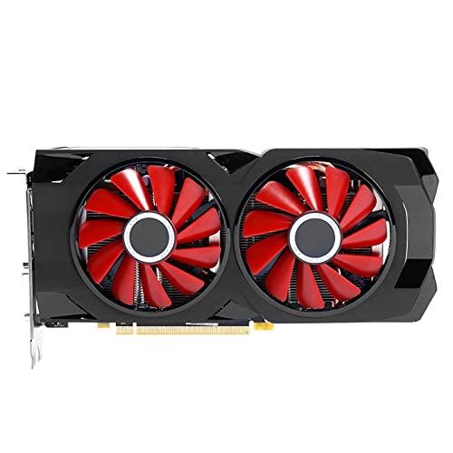 Fit for XFX RX 570 8GB Tarjetas gráficas GPU AMD Radeon RX570 8GB Tarjetas de Pantalla de Video PUBG Desktop PC Mapa de Juegos de computadora HDMI No minero