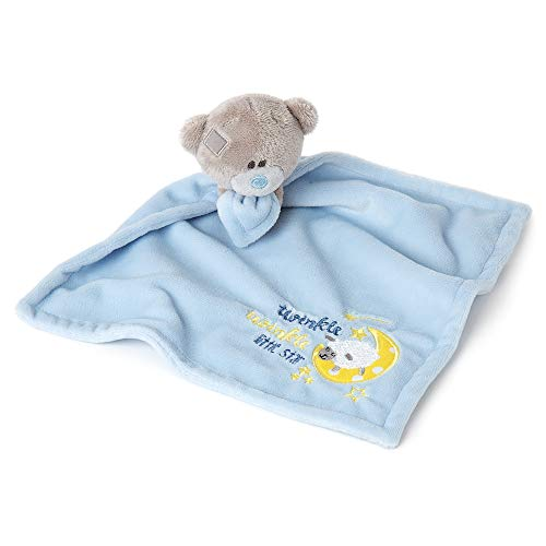 Tiny Tatty Teddy AGB92032 Me to You Twinkle Babyblaue Schmusetuch, babysicher, Baby
