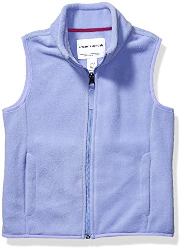 Amazon Essentials Polar Vest Fleece-Outerwear-Vests, Periwinkle Purple, X-Small