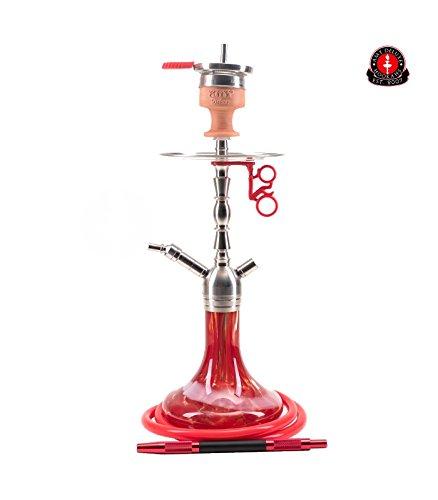AMY Little Hammer SS10 red | Edelstahl Shisha Wasserpfeife Hookah