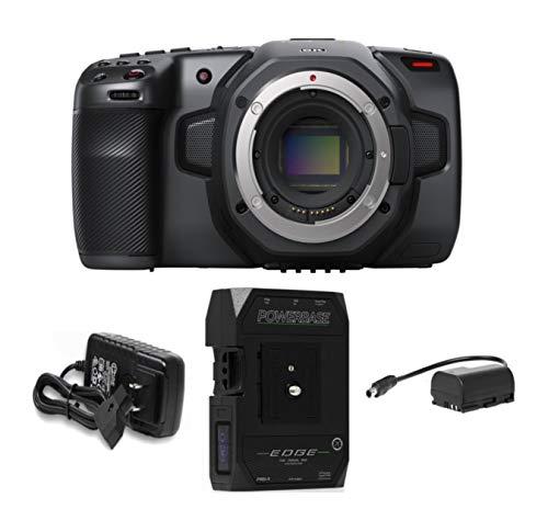 Blackmagic Design Pocket Cinema Camera 6K with Core SWX Powerbase Edge Battery Bundle