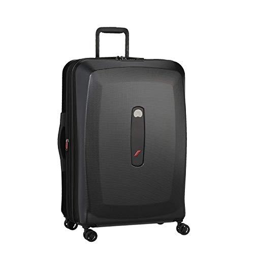 DELSEY Paris Air France Premium Suitcase, 77 cm, 95 liters, Black (Noir)