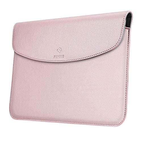 FINTIE Sleeve Case for New Microsoft Surface Go 2 2020 / Surface Go 2018 - Slim Fit Premium Leather Protective Cover with Stylus Loop, Compatible with Type Cover Keyboard, Rose Gold