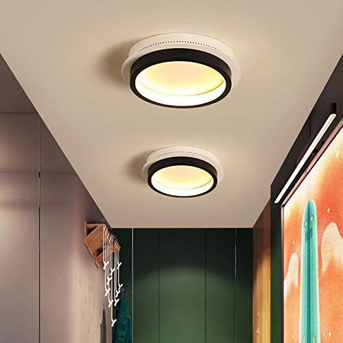 Vierkante/Runder/driehoekige moderne nieuwe geleid kandelaar voor slaapkamer-corridor-gang wit/wit en zwart kleurplaatbevestiging @zwart en wit_vierkant 200x200m_koude W
