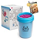 Limpiador de Patas para Perros y Gatos de Ubica - Con suaves cerdas de silicona - Fácil de usar - Elimina: barro, tierra y suciedad - Suave y seguro para su mascota - Colores:azul