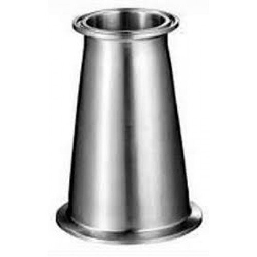 "Moonshine Distiller Stainless Steel 2"" x 3"" Tri-Clover Fitting Adapter"