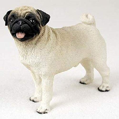 Conversation Concepts Pug Fawn Standard Figurine