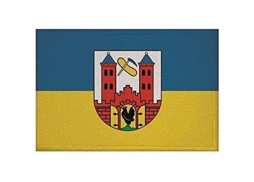 U24 Aufnäher Suhl Fahne Flagge Aufbügler Patch 9 x 6 cm