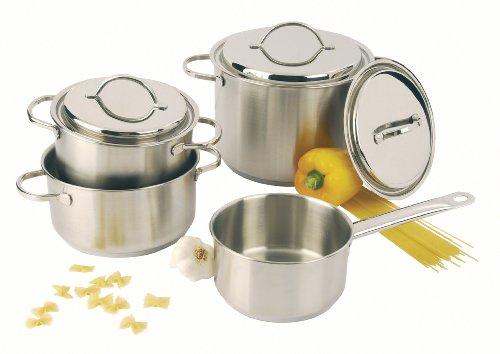 DEMEYERE 40850-406-0 Lot de 4 casseroles
