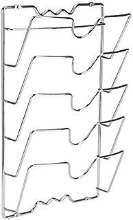 Versatile Porta Stoviglie Cucina Per Posizionare Vassoi//Taglieri//Pentole//Coperchi 01 Porta Coperchi Pentole Senza Unghie Portacoperchi Da Parete O Porta Coperchi Verticale