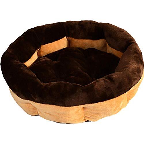 Monbedos hondenmand hoogwaardig rond slaaphuisdiernest voor buiten en thuis - kaki