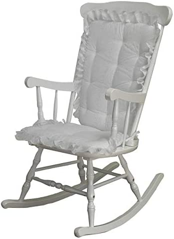 Best ABABY.COM Rocking Chair Cushion Pad Set - Machine Washable Seat and Seat Back Cushions, Seat Cover o