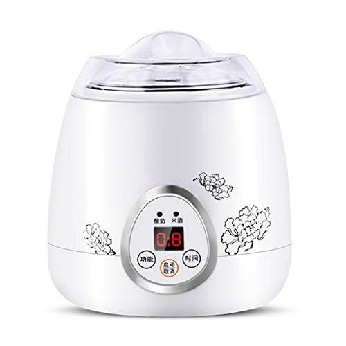 JYDQB 1L Mini máquina de Yogurt de Yogurt eléctrico Multifuncional Máquina de fermentación de Vino de arroz con Acero Inoxidable Interior