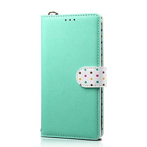 Conveniente para la cartera del teléfono móvil de la protección de la caja de cuero S20 del teléfono móvil de la caja de cuero S20PLUS verde_S20 plus