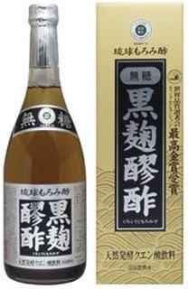 ヘリオス酒造 琉球もろみ酢 黒麹醪酢(無糖)720ml×6本セット