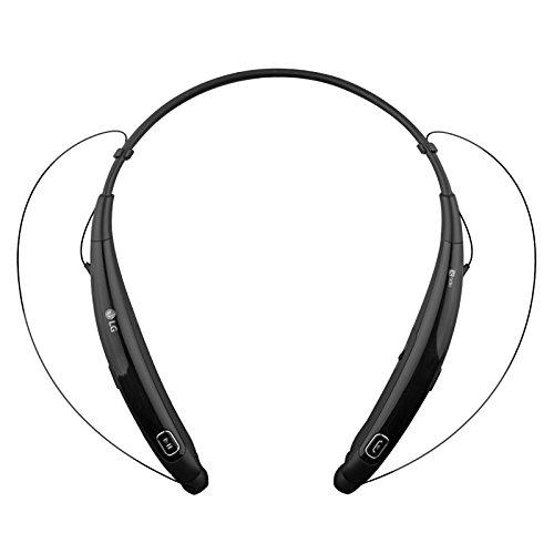 LG Electronics Tone Pro HBS-770 Stereo Bluetooth Headphones Black (Renewed)