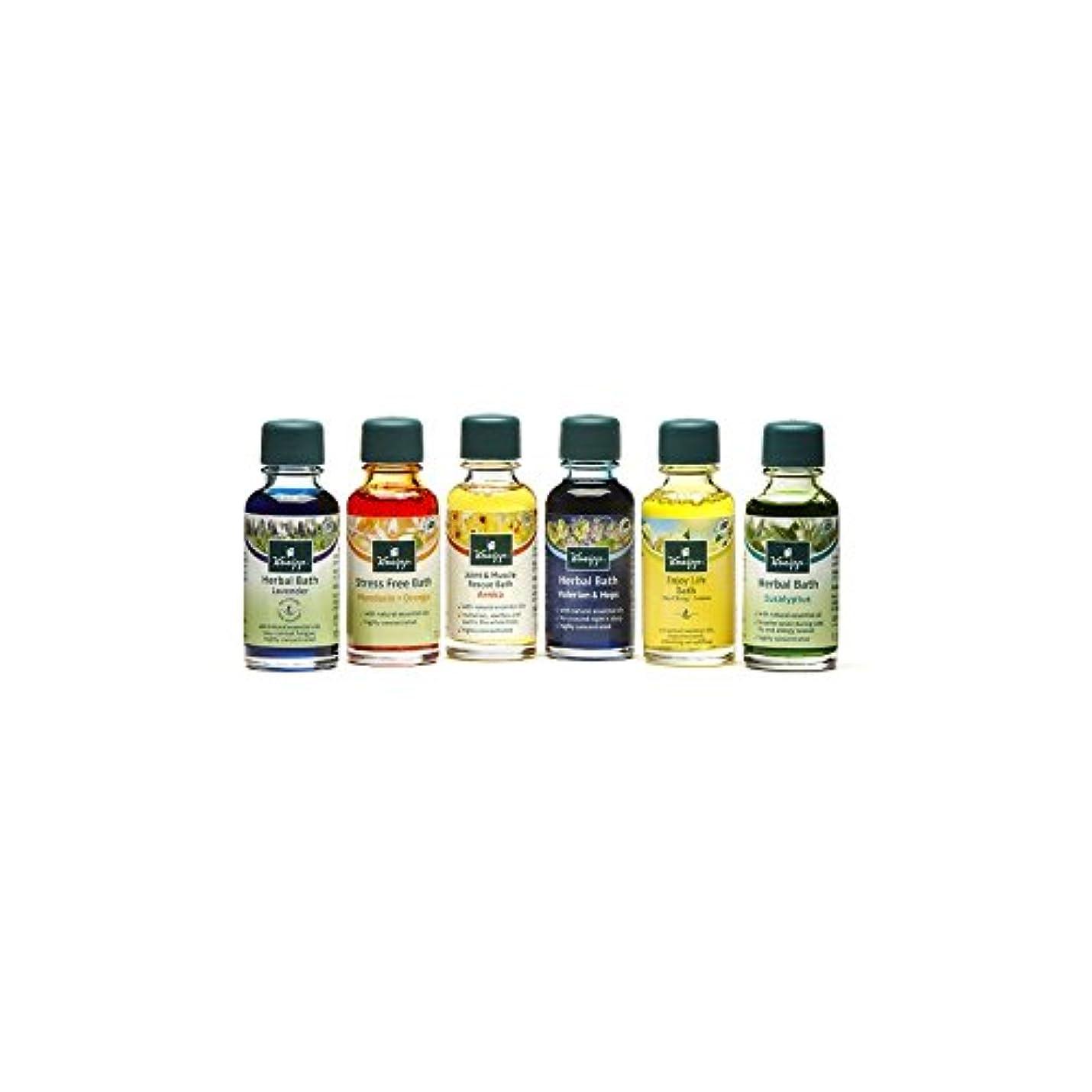 Kneipp Bath Oil Collection (6 x 20ml) - クナイプバスオイルコレクション(6×20ミリリットル) [並行輸入品]