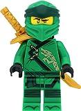 LEGO Ninjago - Figura de Lloyd (Legacy) con hombreras y espadas
