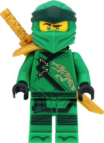 LEGO Ninjago Minifigur: Lloyd (Legacy) mit Schulterrüstung und Schwertern