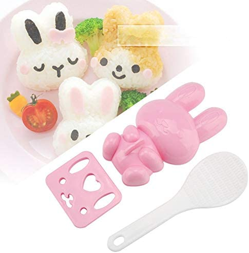 Sushi Mold Rabbit Model Sushi Rice Mold Food grade PP Cartoon Pattern Sushi Mold Rice Ball Mold product image
