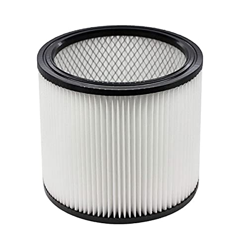 Replacement Filter for for Shop-Vac 90350 90304 90333 Replacement/Dry Shop Vac Vaccuums - Long Lasting - High Absorption (white)