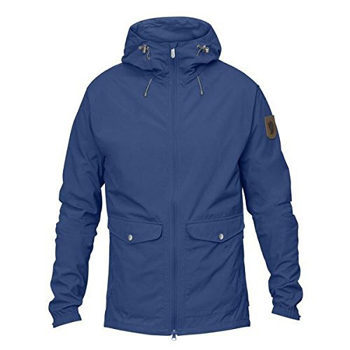 FJÄLLRÄVEN Herren Greenland Wind M Jacket, Deep Blue, S
