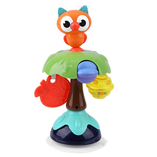 Great Features Of NC SAEDTY Baby Rattle Toy with Suction Base High Chair Interactive Toy Development...