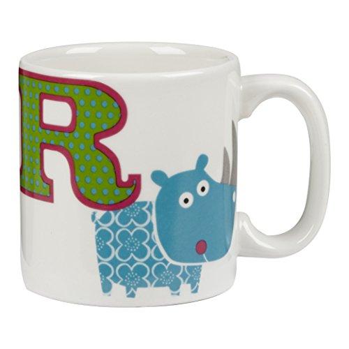 Little Rhymes - Alphabet - taza de desayuno infantil de letra R